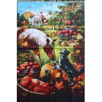 AUTUMN FARM (LARGE 28X40)