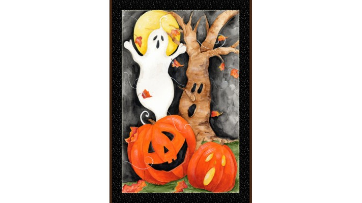 SCÈNE D'HALLOWEEN  ( GRAND 28 X 40)