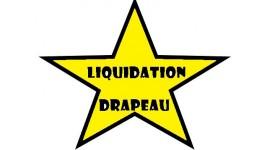 Drapeaux décoratifs en liquidation