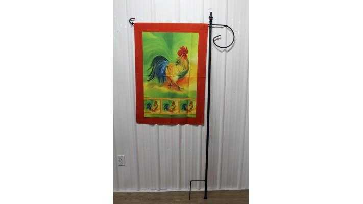 Support pour drapeau décoratif grand format
