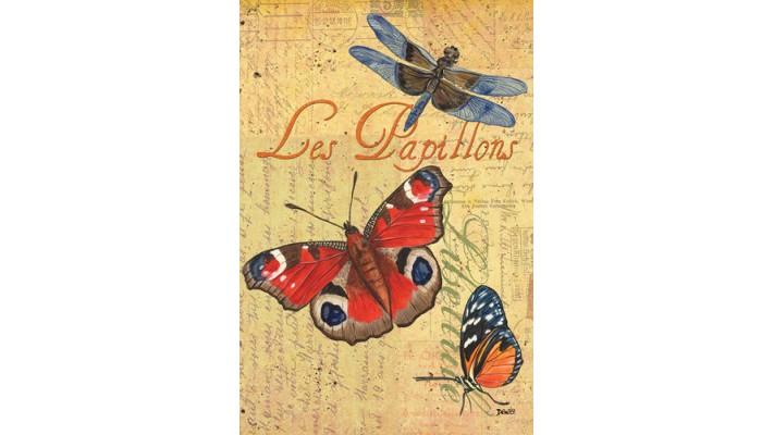 LES PAPILLONS  (GRAND 28 X 40)