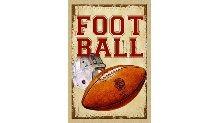 FOOTBALL ( GRAND 28X40)