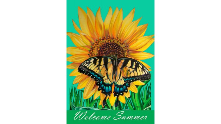 WELCOME SUMMER ( GRAND 28 X 40)