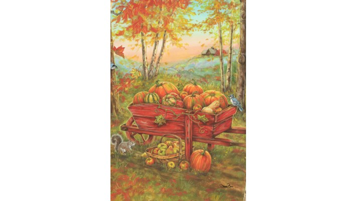 BROUETTE D'AUTOMNE (GRAND 28X40)