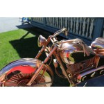 Girouette , girouette en cuivre moto