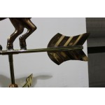 Girouette , girouette en cuivre cheval  collection chalet