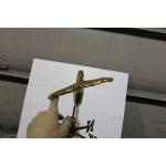 Girouette , girouette en cuivre sirène avec étoile